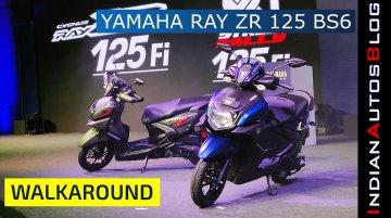 Yamaha Ray ZR 125 FI & Street Rally 125 FI BS-VI | Launch, Price & Walkaround