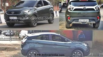 2020 Tata Nexon (facelift) snapped completely undisguised