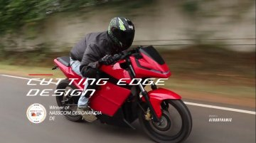 eMotion Surge electric motorcycle with 300 km range to debut at Auto Expo 2020 - Report
