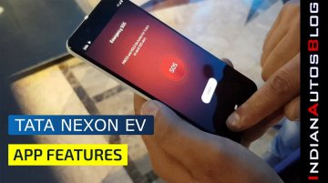 Tata Nexon EV Detailed Look at Mobile App