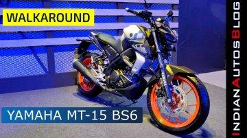 Yamaha MT-15 BS-VI | Walkaround