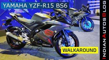 Yamaha YZF-R15 V3.0 BS-VI | Walkaround