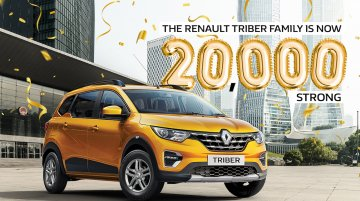 Renault Triber cumulative sales cross 20,000 units in India