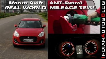Maruti Swift Petrol-AMT Mileage Test | India Ki Favourite Hatchback Kitna Deti Hai?
