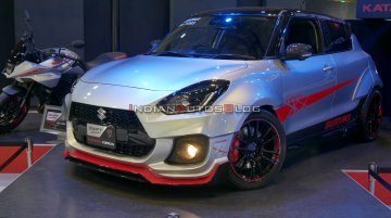 Widebody Japanese Suzuki Swift Sport Katana Edition breaks cover in Tokyo