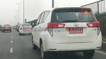 Scoop: Toyota Innova Crysta CNG spied in India for the first time, to be launched soon