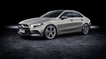 Mercedes A-Class Sedan to debut in India at Auto Expo 2020