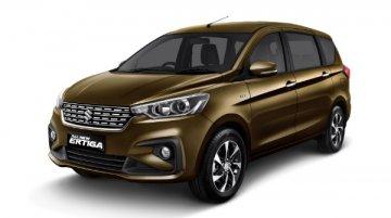 Suzuki Ertiga gets Khaki colour, 8-inch touchscreen & more in Indonesia
