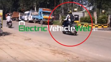 TVS electric scooter makes spy photo debut [Video]