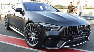 Mercedes-AMG GT 4-Door Coupe announced for Auto Expo 2020 - In 22 Live Images from Germany
