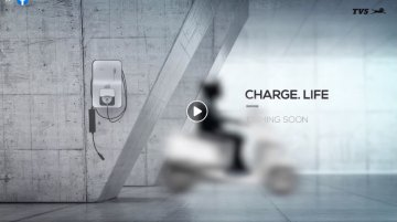 TVS releases first teaser of its upcoming electric scooter