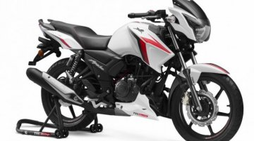 TVS Apache RTR 160 BS6 price reaches INR 1 lakh mark - IAB Report