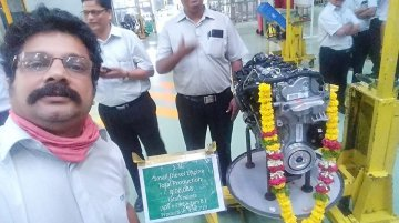 End of an era: 1.3L MultiJet diesel engine production stopped at FCA-Tata Motors plant