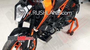 BS-VI KTM 200 Duke makes spy photo debut