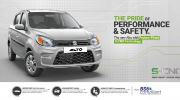 BS-VI Maruti Alto CNG launched at INR 4.33 lakh