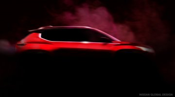 Nissan sub-4 metre SUV for India announced, teaser released