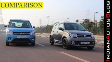 2019 Maruti Suzuki Wagon R vs Ignis | Hindi Comparison