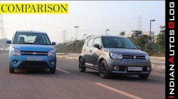 2019 Maruti Suzuki Wagon R vs Ignis | Hindi Comparison