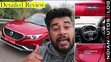 MG ZS EV First Drive (Hindi) | Detailed Look At Smart Features