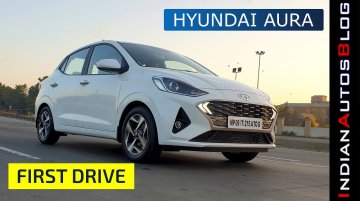 Hyundai Aura Most-Detailed Review (Hindi) | As Amaze-ing as the Dzire?
