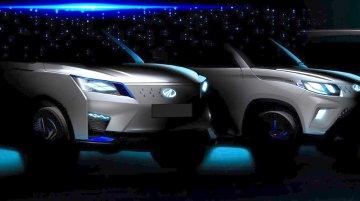 Auto Expo 2020: Mahindra eXUV300 concept and production Mahindra eKUV100 teased