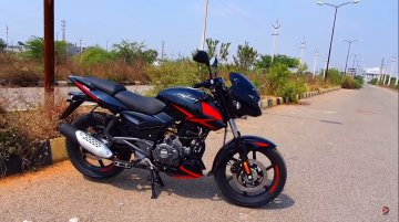 BS-VI Bajaj Pulsar 150 Twin Disc revealed completely by YouTuber