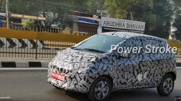 2020 Datsun redi-GO (facelift) makes spy photo debut  [Video]