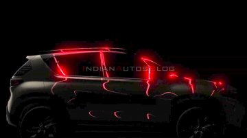 Auto Expo 2020: Kia Sonet with flush door handles, C-pillar blade teased
