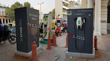 Ather Energy starts installing Ather Grid charging stations in New Delhi