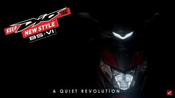BS-VI Honda Dio teased ahead of imminent launch [Video]
