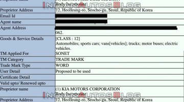 Exclusive: Trademark filings confirm Kia Sonet concept and Kia Sonet names for Kia QYI