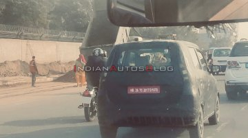 Maruti WagonR-based EV spied again, to be introduced later this year