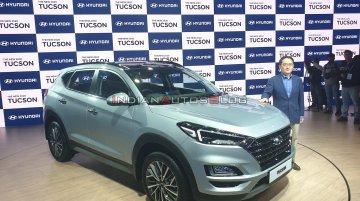 2020 Hyundai Tucson- ऑटो एक्सपो 2020 से लाइव