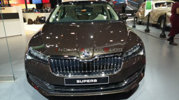 2020 Skoda Superb (facelift) at Auto Expo 2020 - Image Gallery