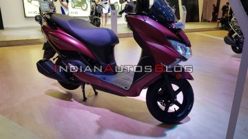 BS-VI Suzuki Burgman Street 125 with new matte red colour launched at INR 77,900