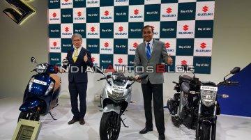 BS-VI Suzuki Gixxer SF and Gixxer (155) unveiled - Live from Auto Expo 2020