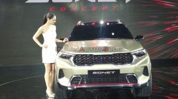 Kia Sonet Concept at Auto Expo 2020 - Image Gallery