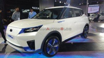 Mahindra e-XUV300 EV concept - Live From Auto Expo 2020