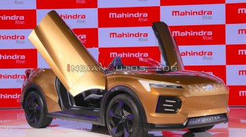 Mahindra Funster concept with 500 km+ range - Live From Auto Expo 2020