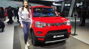 Maruti S-Presso CNG at Auto Expo 2020 - Image Gallery