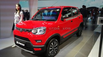 Maruti S-Presso CNG (to be launched soon) - Live from Auto Expo 2020