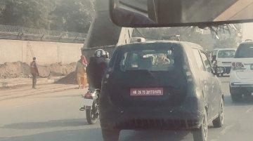 Maruti WagonR बेस्ड इलेक्ट्रिक कार, गुरूग्राम में टेस्टिंग के दौरान दिखी