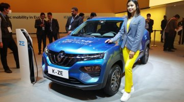 Renault K-ZE (Renault Kwid electric) - Live from Auto Expo 2020
