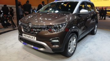 Renault Triber AMT dual-tone - Live from Auto Expo 2020