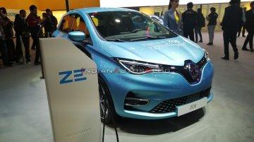 Renault Zoe इलेक्ट्रिक कार (2021 में लॉन्च) – ऑटो एक्सपो 2020 से लाइव