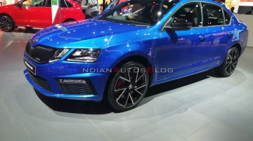 Skoda Octavia RS 245 launched, priced at INR 35.99 - Live From Auto Expo 2020