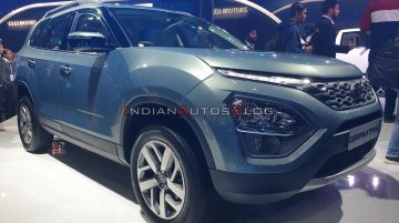 6-seat Tata Gravitas (three-row Tata Harrier) - Live from Auto Expo 2020