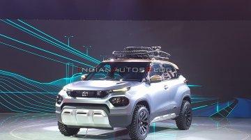 Tata HBX concept (New Tata H2X/Tata Hornbill) - Live From Auto Expo 2020