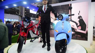 EeVe India unveils high-end electric two-wheelers - Live from Auto Expo 2020