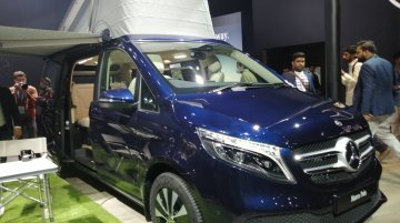 Mercedes V-Class Marco Polo at Auto Expo 2020 - Image Gallery